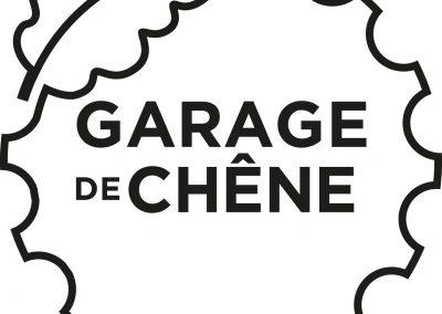 Garage de Chêne – identité visuelle