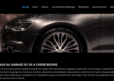 Garage GVSA – site web