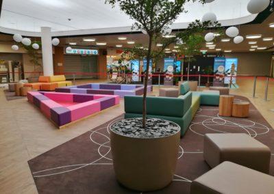 Aire de jeux – centre commercial